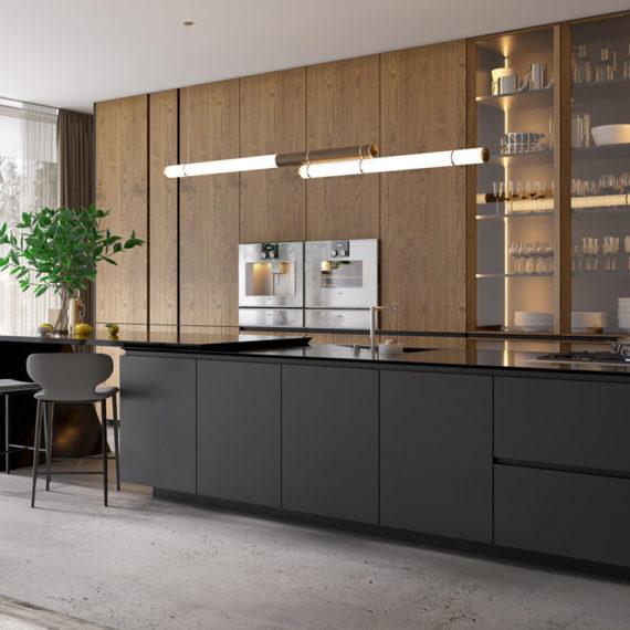 3d kitchen furniture visualization