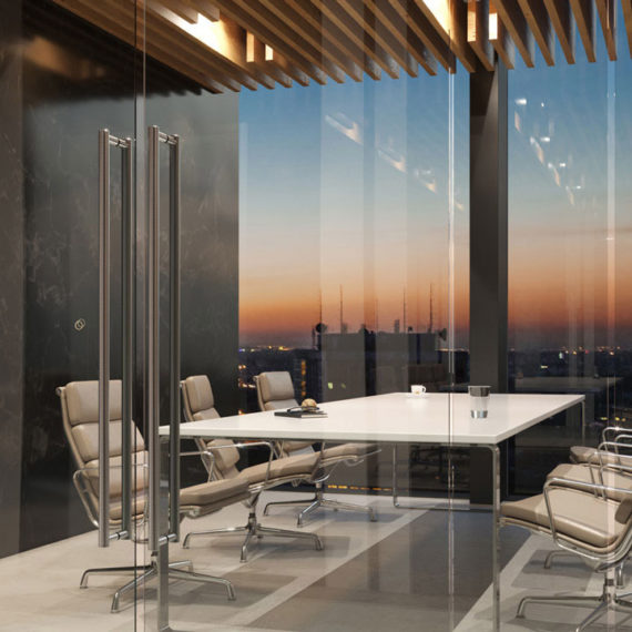 meeting room marble photorealistic 3d