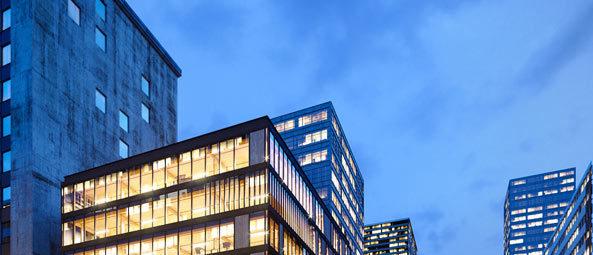 wizualizacje 3d architektoniczne biurowiec szklany
