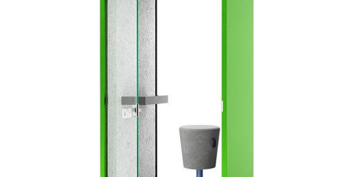 wizualizacje 3d produktowe budka zielona