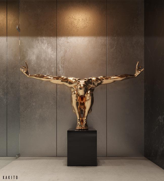 wizualizacje 3d produktowe rzeźba
