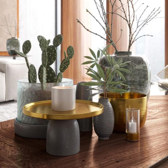 wizualizacje 3d produktu set dekoracyjny
