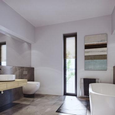 wizualizacje 3d wnętrz łazienka nowoczesna