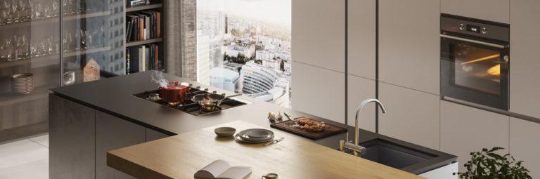 wizualizacje 3d wnętrz kuchnia