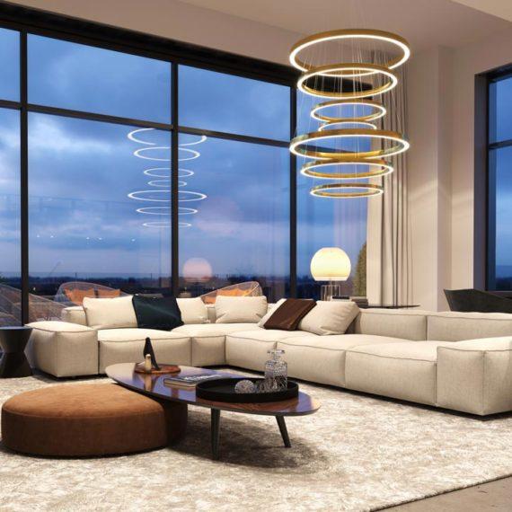 wizualizacje 3d wnętrz sofa
