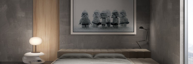 wizualizacje 3d wnętrz sypialnia
