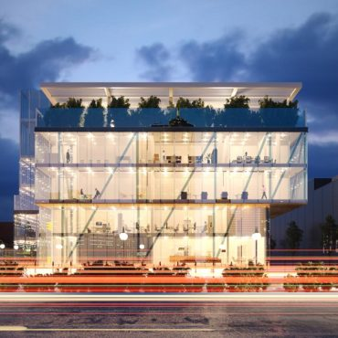 wizualizacje architektoniczne 3d biurowiec