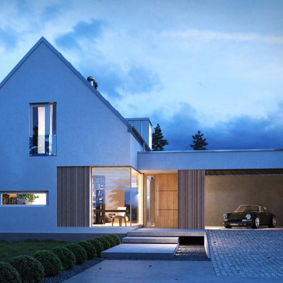 wizualizacje architektoniczne 3d dom