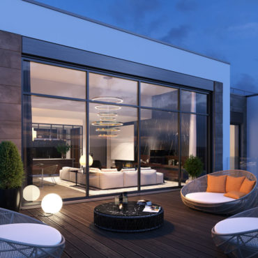 wizualizacje architektoniczne 3d taras