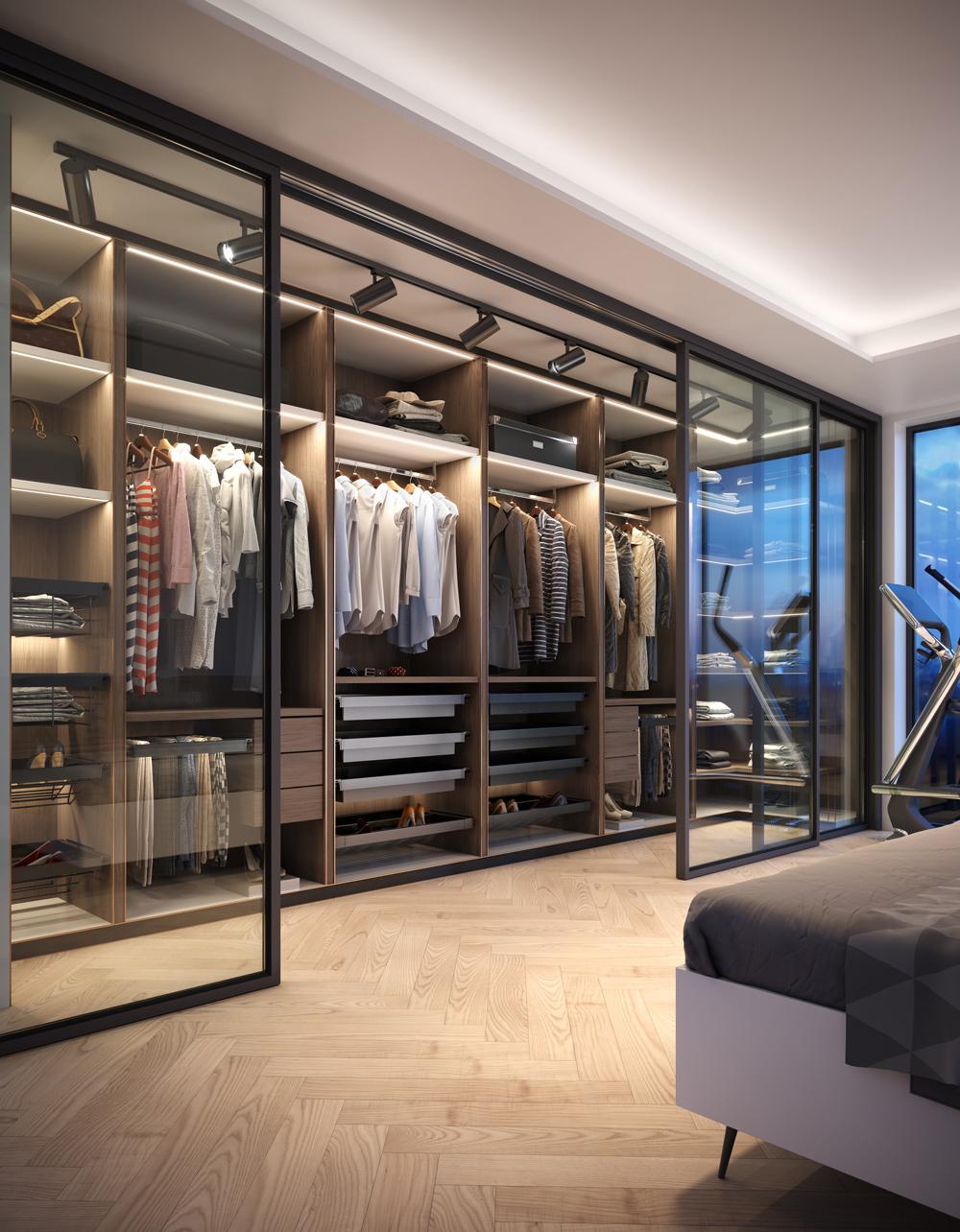 elite-wardrobe-3d-render