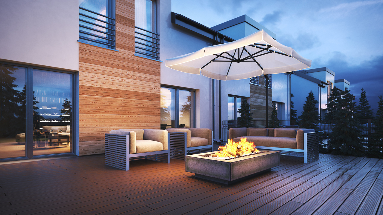 estate-housing-fireplace-3d-render