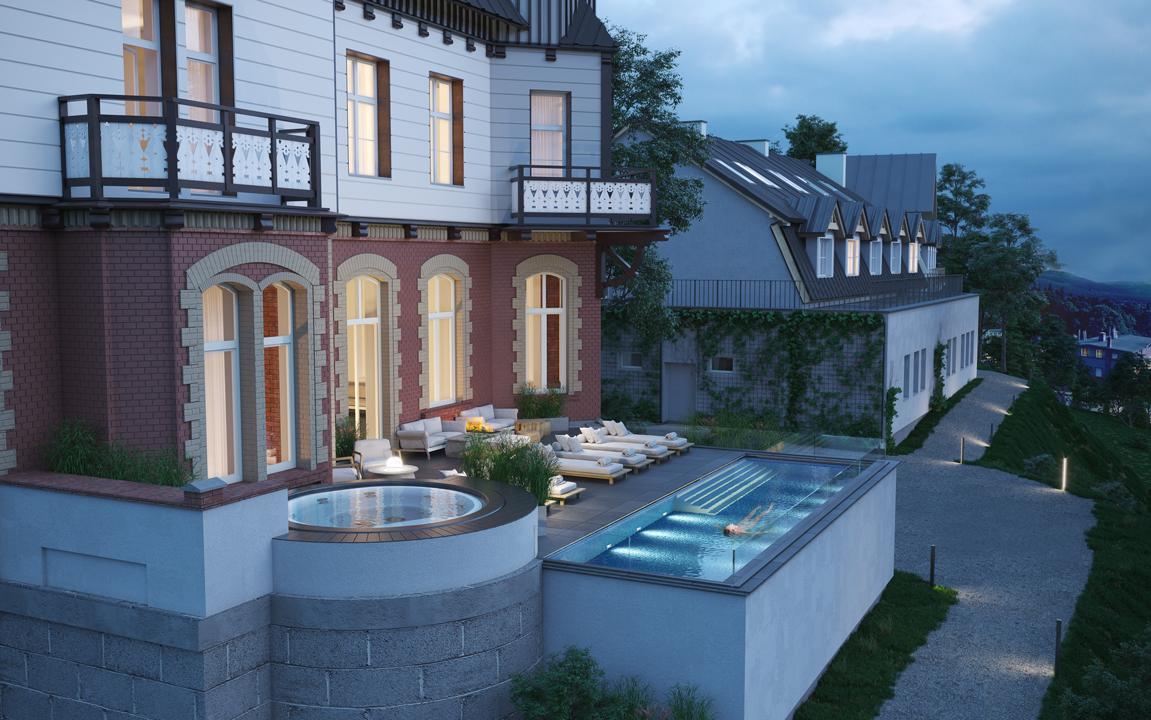 hotel-3d-rendering