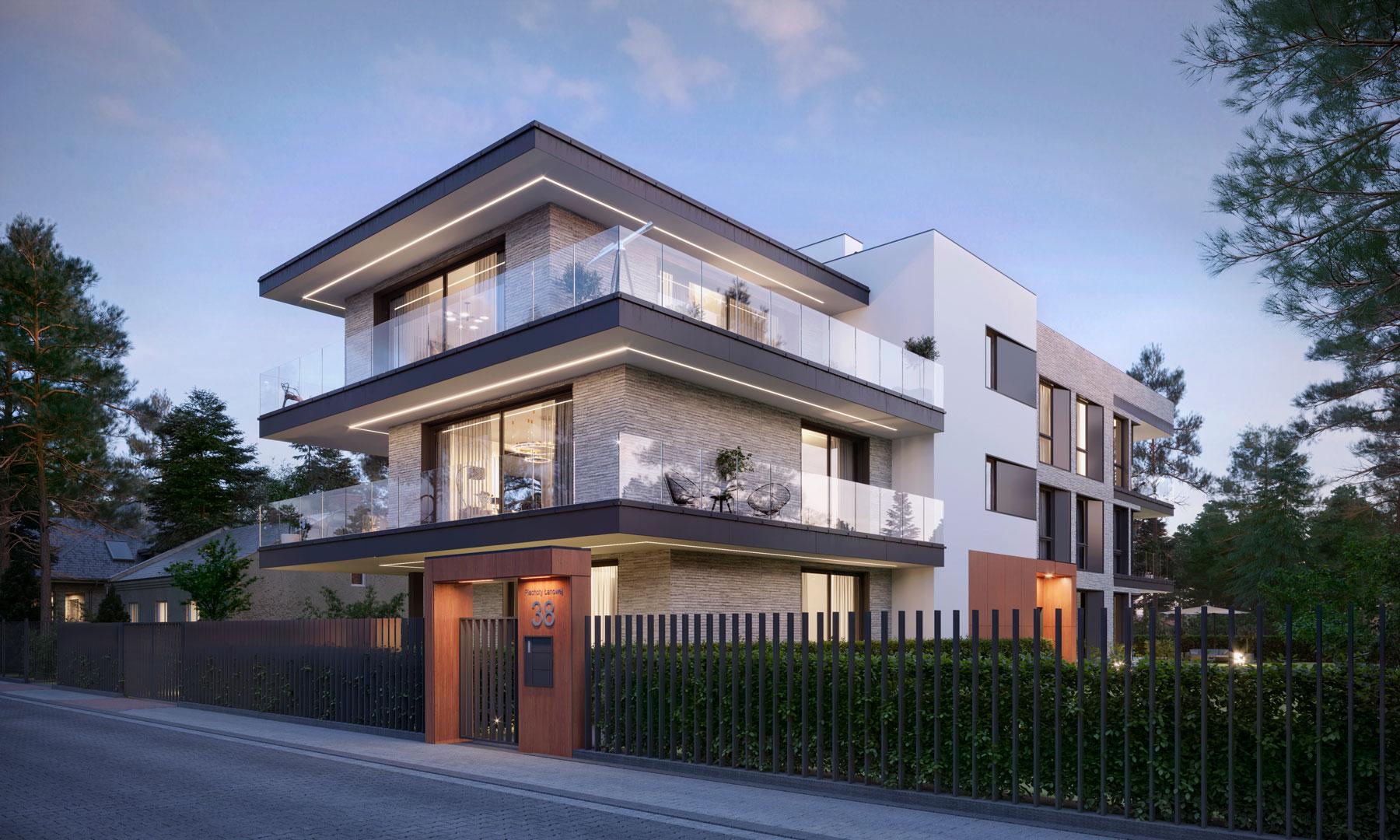 3d exterior render real estate