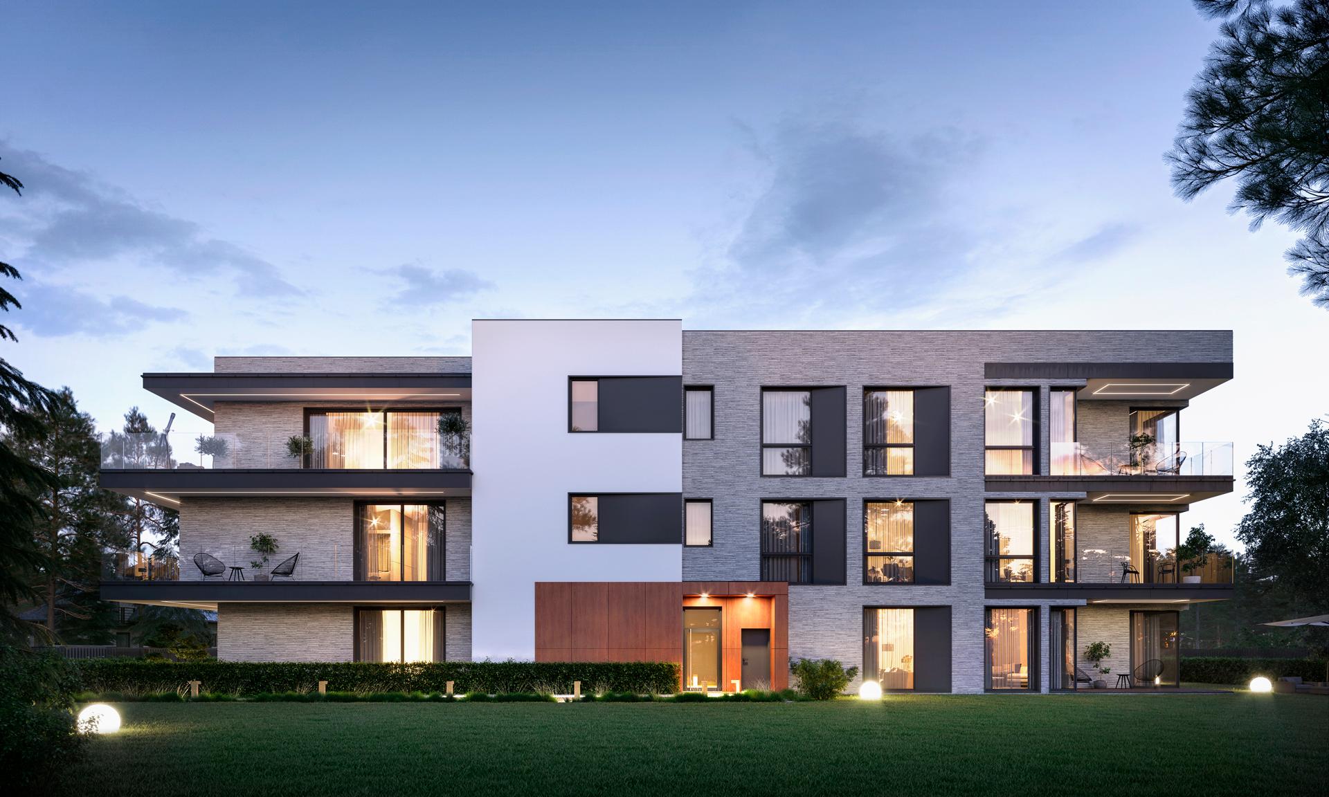 3d render exterior real estate