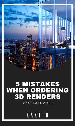 5 mistakes ordering rendering
